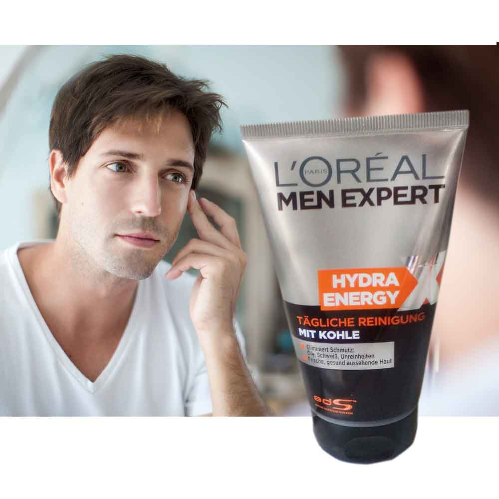 l 39 oreal men expert hydra energy face wash with coal 100ml online store in sri lanka. Black Bedroom Furniture Sets. Home Design Ideas