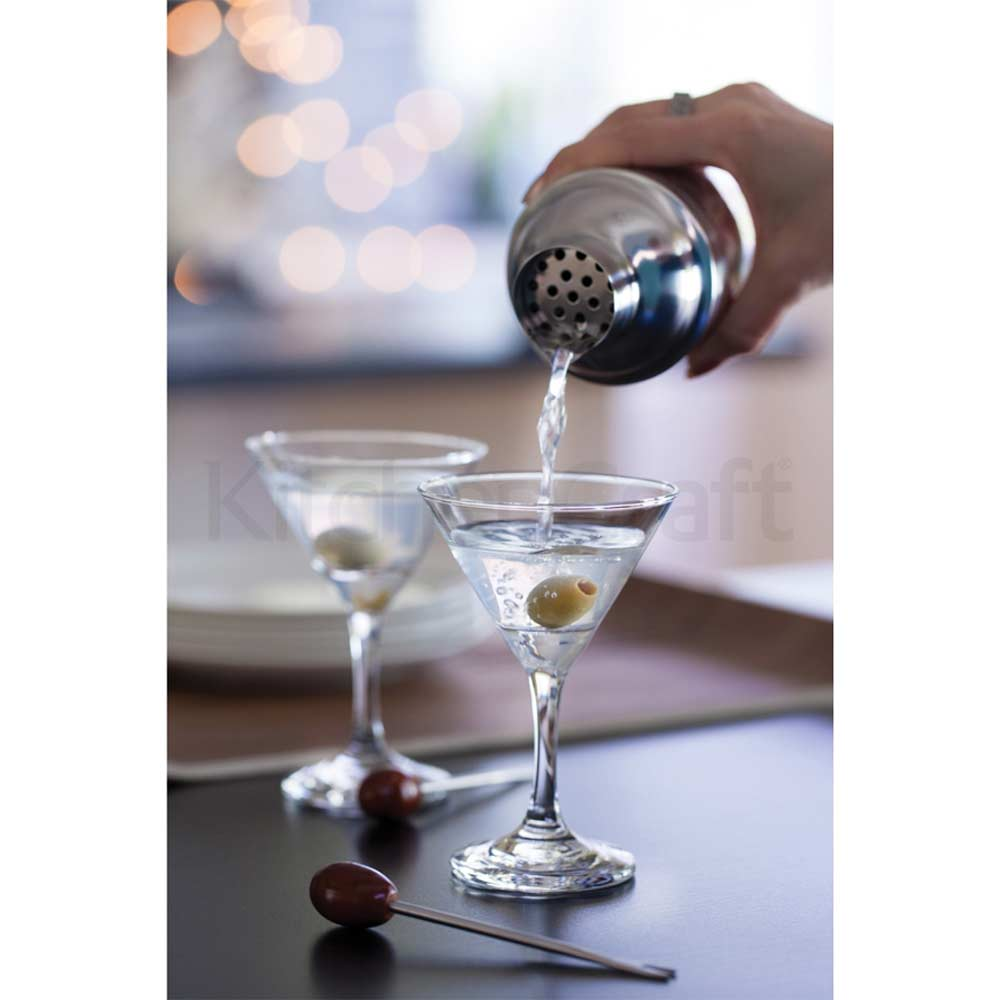 Bar craft six piece mini martini gift set gift boxed for Craft cocktail gift set