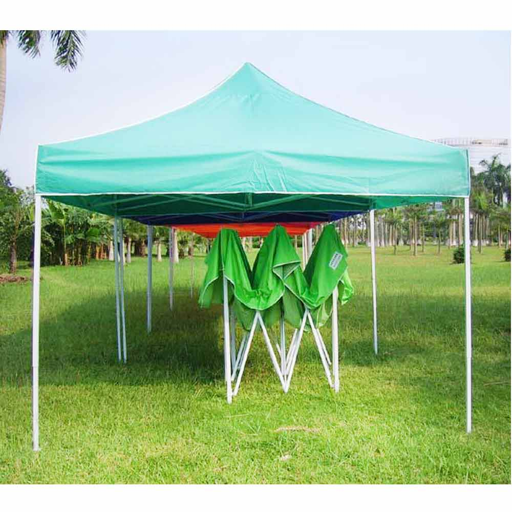 Folding Canopy Tent With Powder Coated Frames 3x3m 10 X